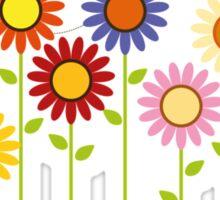 Colorful Garden Sticker