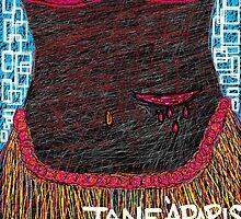 BLACK GIRL WHO-LA DEATH DANCE by JaneAParis