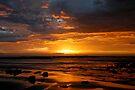Blanket Bay Sunrise VI by Richard Heath