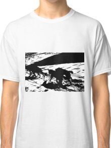 Sled Dogs in Prescott Park, Portsmouth, NH Classic T-Shirt
