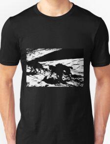 Sled Dogs in Prescott Park, Portsmouth, NH T-Shirt