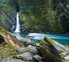 Burke Falls. by Michael Treloar