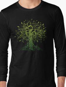 Meditate, Meditation, Spiritual Tree Yoga T-Shirt Long Sleeve T-Shirt