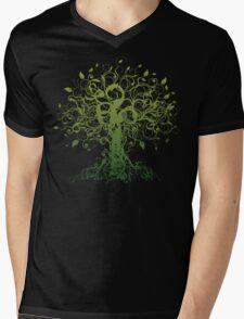 Meditate, Meditation, Spiritual Tree Yoga T-Shirt Mens V-Neck T-Shirt