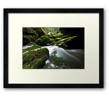 Cave Creek Green. Framed Print