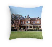 Ripon Lea House Throw Pillow