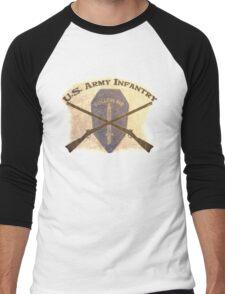 U.S. Infantry - I am the Infantry!  FOLLOW ME! Men's Baseball ¾ T-Shirt
