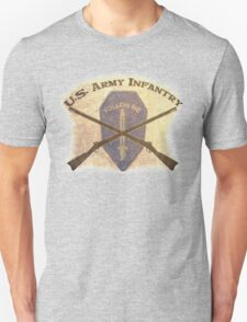 U.S. Infantry - I am the Infantry!  FOLLOW ME! Unisex T-Shirt