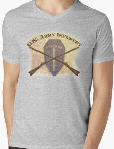 U.S. Infantry - I am the Infantry!  FOLLOW ME! Mens V-Neck T-Shirt