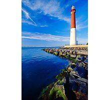Barnegat Lighthouse, LBI, New Jersey Photographic Print