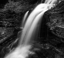 Shawnee Falls (up close) by Aaron Campbell