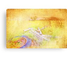 My First Textured Image Canvas Print