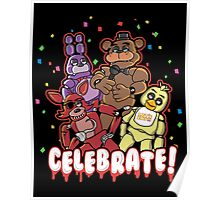Five Nights At Freddy's Celebrate! Poster