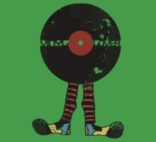 Funny Vinyl Records Lover - Grunge Vinyl Record Kids Clothes