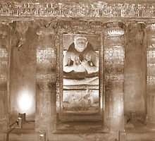 Carvings of Buddha by magiceye