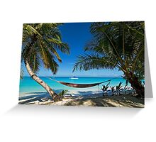 Hammock in Paradise Greeting Card