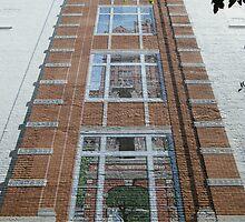 Mural on Miller Building by raindancerwoman