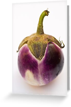 E as in Eggplant by Ilva Beretta