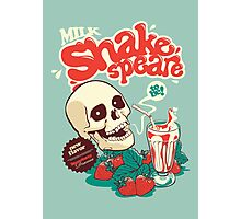 Milk Shakespeare Photographic Print