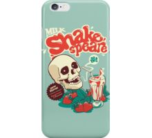 Milk Shakespeare iPhone Case/Skin