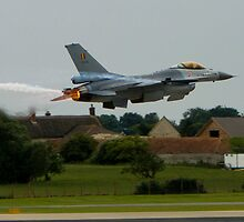 Belgian F16 by wafu207