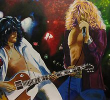 Jimmy & Robert (Led Zeppelin) by Kieran  Sturgeon