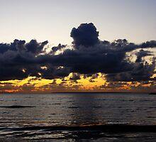 Sunset sea by Bluesrose