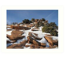 Canyonlands in the Winter Art Print