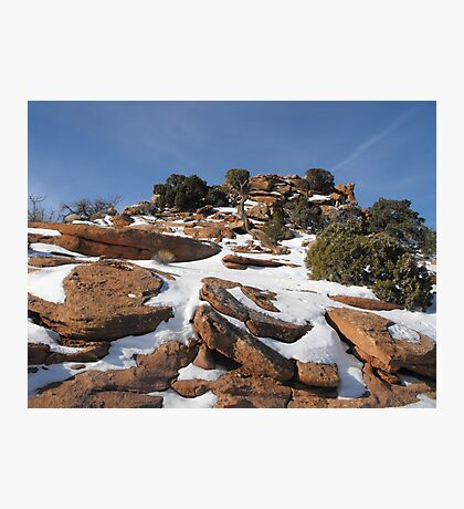 Canyonlands in the Winter Photographic Print
