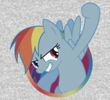 Popout Rainbow Dash One Piece - Long Sleeve