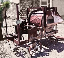 Antique Cement Mixer - Goldfield, Nevada by TWindDancer