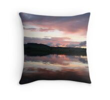 Skyscape on the River Tamar Throw Pillow