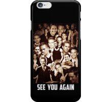 Paul Walker see you again Tribute iPhone Case/Skin