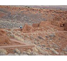 Photographing Wupatki National Monument Photographic Print