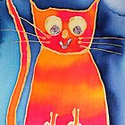 Red and Orange Cat by anngramat