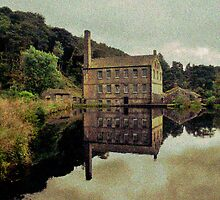 Gibson Mill ( Scene of a Mill Pond ) by Paul Gibbons