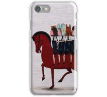 red horse de la serie Hard Candy iPhone Case/Skin