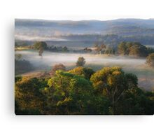 "Whispy Winter's Morn"" Canvas Print"