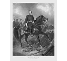 General George McClellan On Horseback Photographic Print