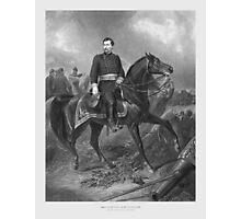 General George McClellan On Horseback Photographic Print