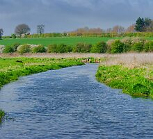 River Bure Norfolk UK by Mark Snelling