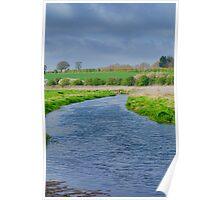 River Bure Norfolk UK Poster