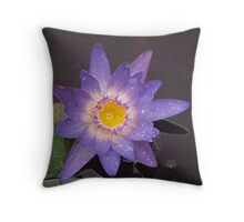 Painting with Lillies Throw Pillow