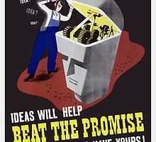 Ideas Will Help Beat The Promise -- WWII by warishellstore