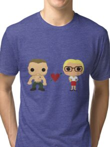 Oliver and Felicity  Tri-blend T-Shirt
