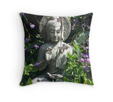 Sunbathing Satori Throw Pillow
