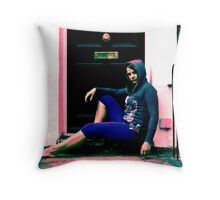 Down and out in London Throw Pillow