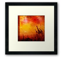 Mourning the Past Framed Print