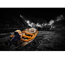 Night Image - Selective Colouring Photographic Print