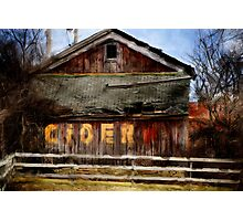 The Old Cider Barn Photographic Print